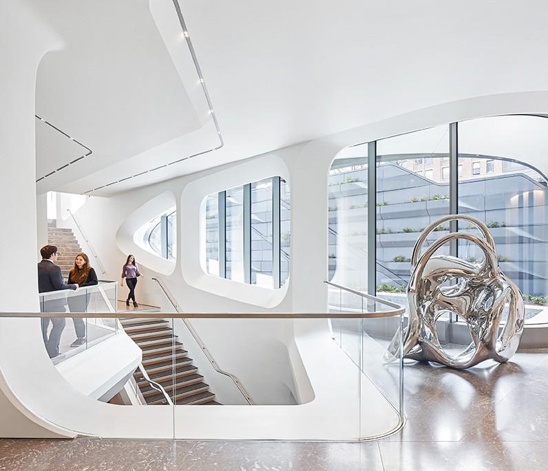 Modern Architect-520 West 28th Street / Zaha Hadid Architects