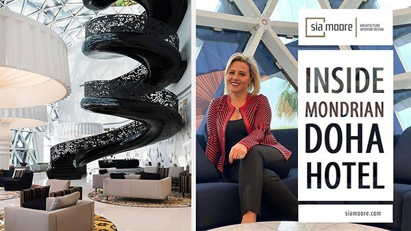 Sia Moore - Mondrian Doha Hotel Part 1